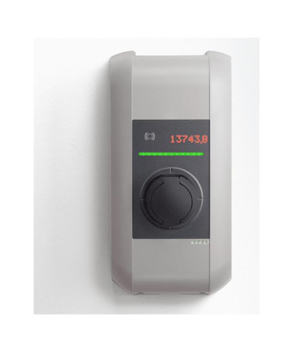 KEBA Laddbox För Elbilar, Uttag Type2 Ger Upp Till 22kW Med WLAN/4G Och RFID